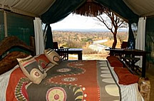 Tented accommodations at Tarangire Safari Lodge - courtesy Tarangire Safari Lodge