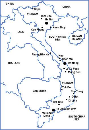 Overview Of Birding In Vietnam